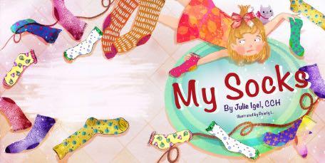 My Socks by Julie Igel book cover